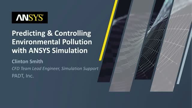 Predicting & Controlling Environmental Pollution with ANSYS Simulation