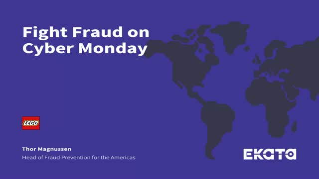 Fight Fraud on Cyber Monday with LEGO