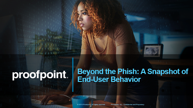 Beyond the Phish: A Snapshot of End-User Behaviour