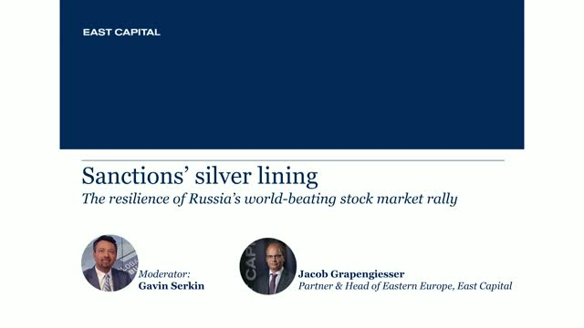 Sanctions' silver lining: The resilience of Russia's world-beating stock market