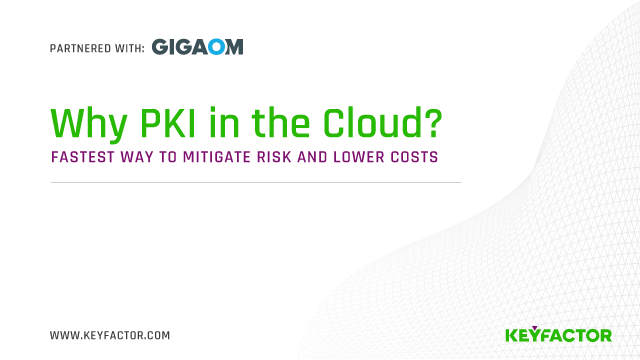 Why PKI in the Cloud? Fastest Way to Mitigate Risk and Lower Costs