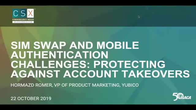 SIM Swap and Mobile Authentication Challenges: Protect Against Account Takeovers