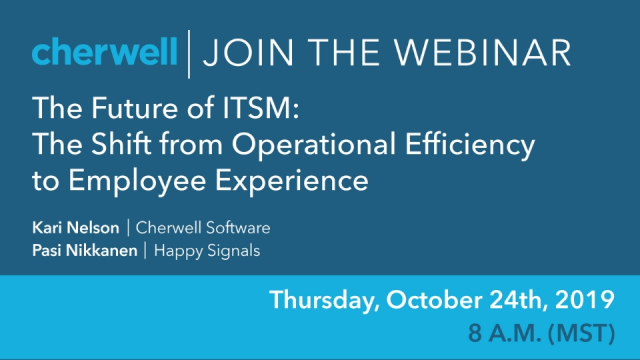 The Future of ITSM: The Shift from Operational Efficiency to Employee Experience