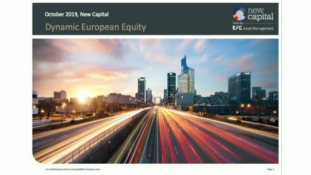 Dynamic European Equity - Q3 review