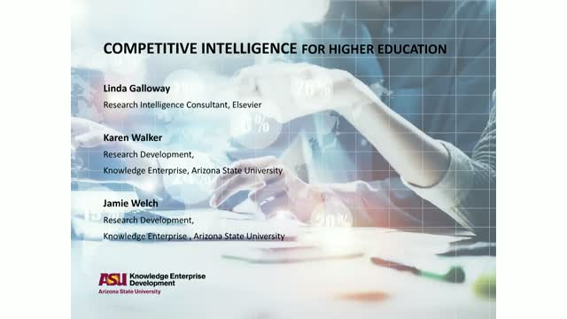 Academic Research Intelligence Gathering in Higher Education
