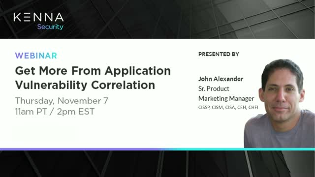 Get More From Application Vulnerability Correlation