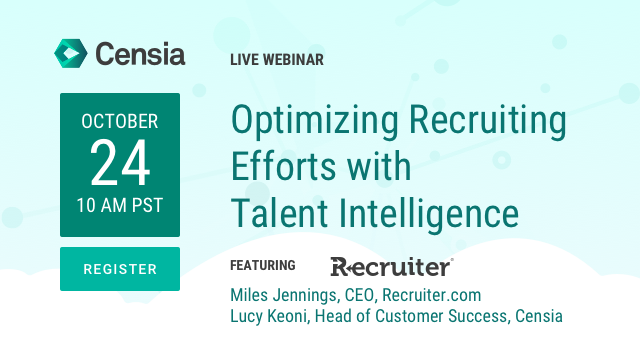 Optimizing Recruiting Efforts with Talent Intelligence