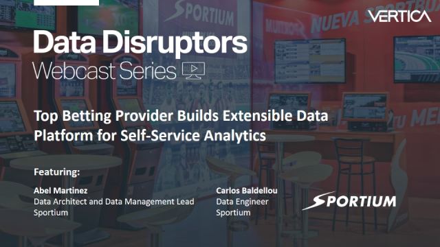 Top betting provider builds extensible data platform for self-service analytics