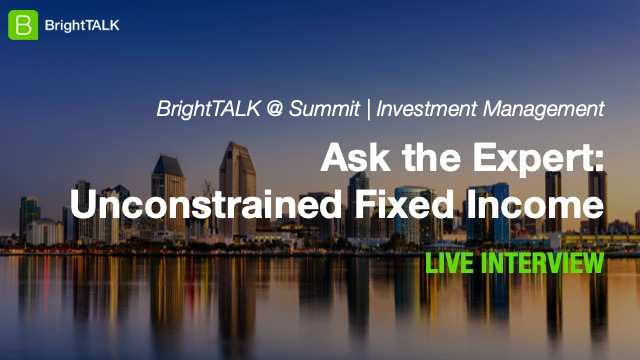 Ask the Expert: Unconstrained Fixed Income