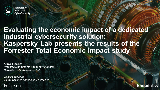 Evaluating the economic impact of an industrial cybersecurity solution