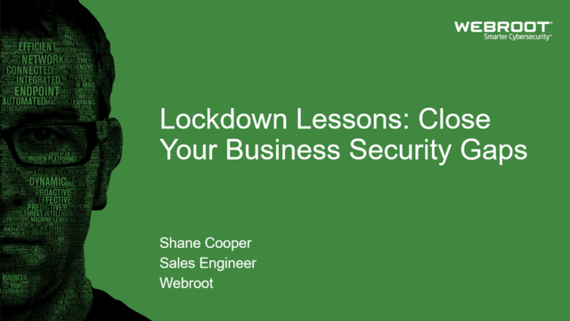 Lockdown Lessons: Close Your Business Security Gaps