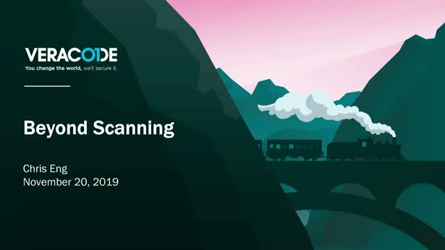 Keynote: Beyond Scanning
