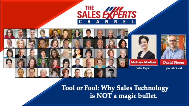 Tool or Fool: Why Sales Technology is NOT a magic bullet.