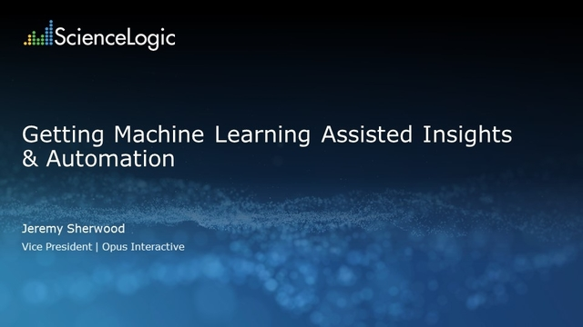 Getting Machine-Learning Assisted Insights & Automation
