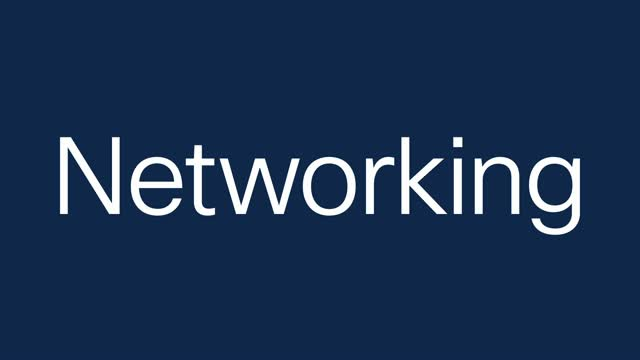 See what's next in networking