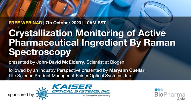 Crystallization Monitoring of Active Pharmaceutical Ingredient By Raman Spectros