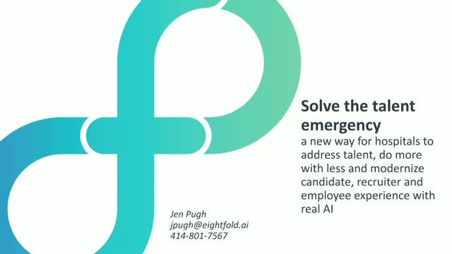 Solve the Talent Emergency: A New Way for Hospitals to Address Talent