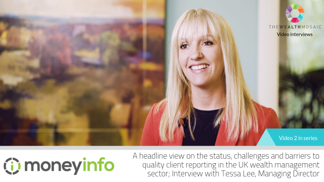 moneyinfo:A headline view on client reporting in the UK wealth management sector