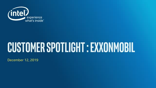 ExxonMobil and Intel: Advancing Open Process Automation