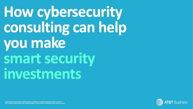 How cybersecurity consulting can help you make smart security investments