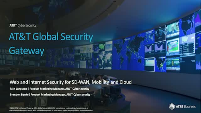How to evolve your web and internet security for SD-WAN, Mobility and Cloud