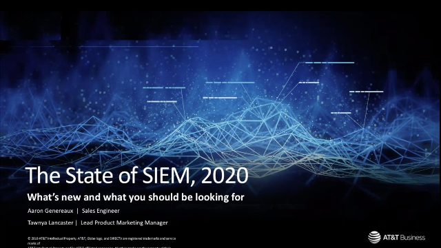 The State of the SIEM, 2020 — What's New and What You Should Be Looking For