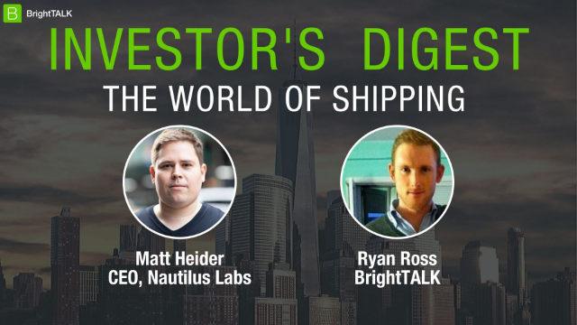 Investor's Digest: The World of Shipping
