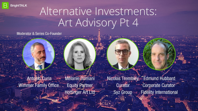 Alternative Investments: Art Advisory Pt 4
