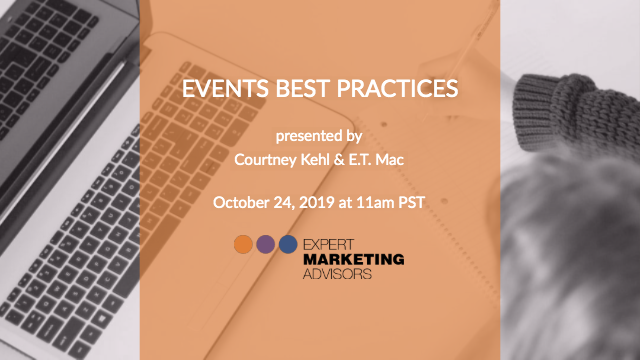Events Best Practices