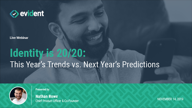 Identity is 20/20: This Year's Trends vs. Next Year's Predictions