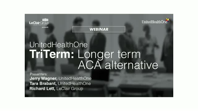 UnitedHealthOne TriTerm: Longer Term ACA Alternative