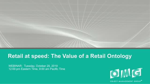 Retail at Speed - The Value of a Retail Ontology