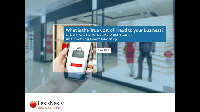 What is the True Cost of Fraud to Your Business?