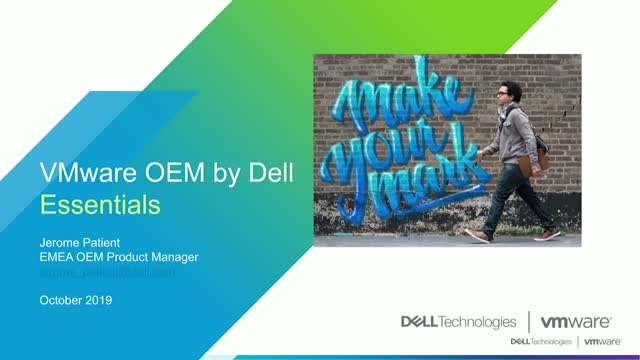 DellEMC VMware OEM value proposition