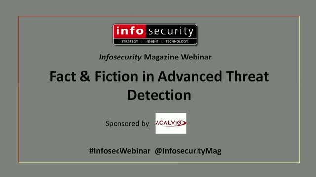 Fact & Fiction in Advanced Threat Detection