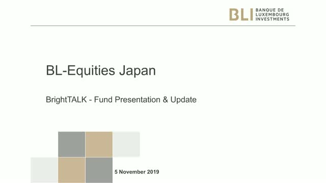 Fund update - BL Equities Japan