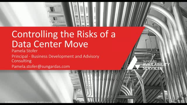Controlling the Risks of a Data Center Move