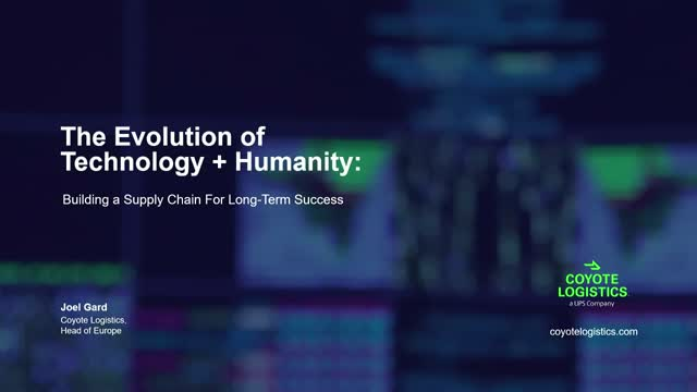 Technology + Humanity: Building a Supply Chain For Long-Term Success