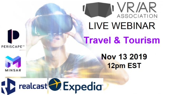Virtual and Augmented Reality for Travel & Tourism