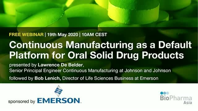 Continuous Manufacturing as a Default Platform for Oral Solid Drug Products