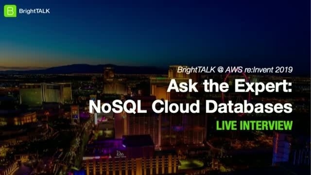 Ask the Expert: NoSQL Cloud Databases