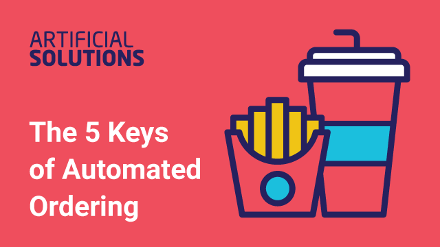 The 5 Keys of Automated Ordering