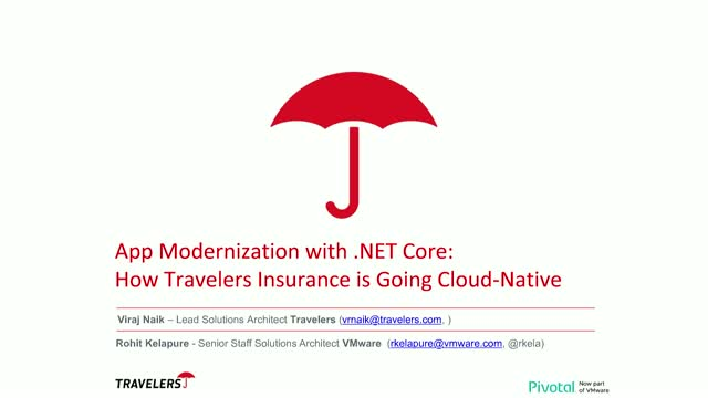App Modernization with .NET Core: a Journey from Mainframe to Microservices