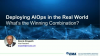 Deploying AIOps in the Real World: What's the Winning Combination?