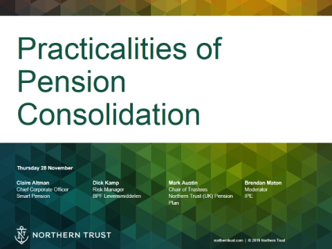 Practicalities of Pension Consolidation