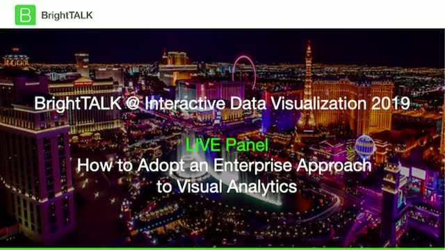 How to Adopt an Enterprise Approach to Visual Analytics