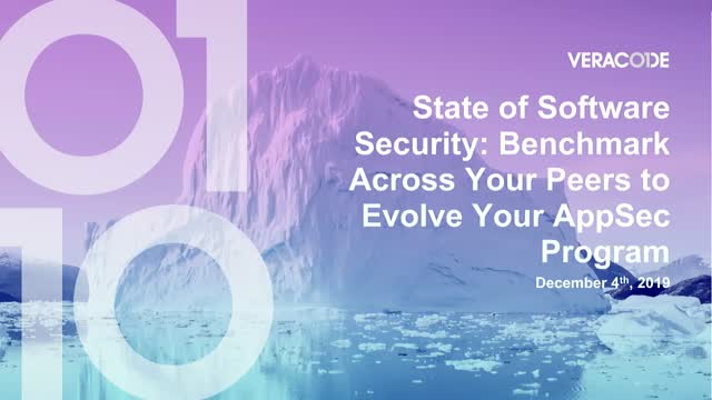 State of Software Security: Peer Benchmarking to Evolve Your AppSec Program