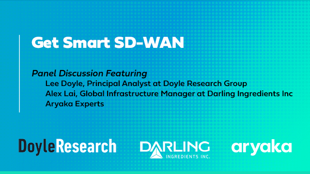 Get Smart SD-WAN – Featuring Doyle Group