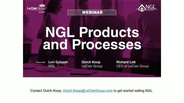 NGL Products and Processes