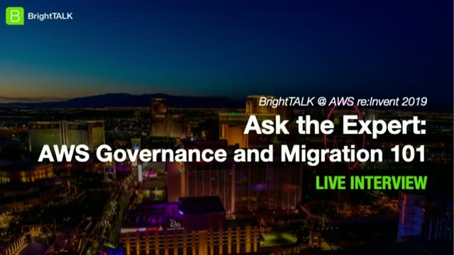 Ask the Expert: AWS Governance and Migration 101